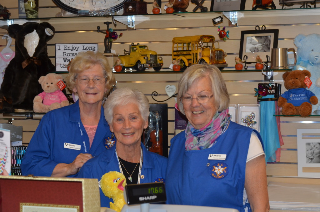 Abbotsford Regional Hospital Auxiliary Gift Shop Volunteers